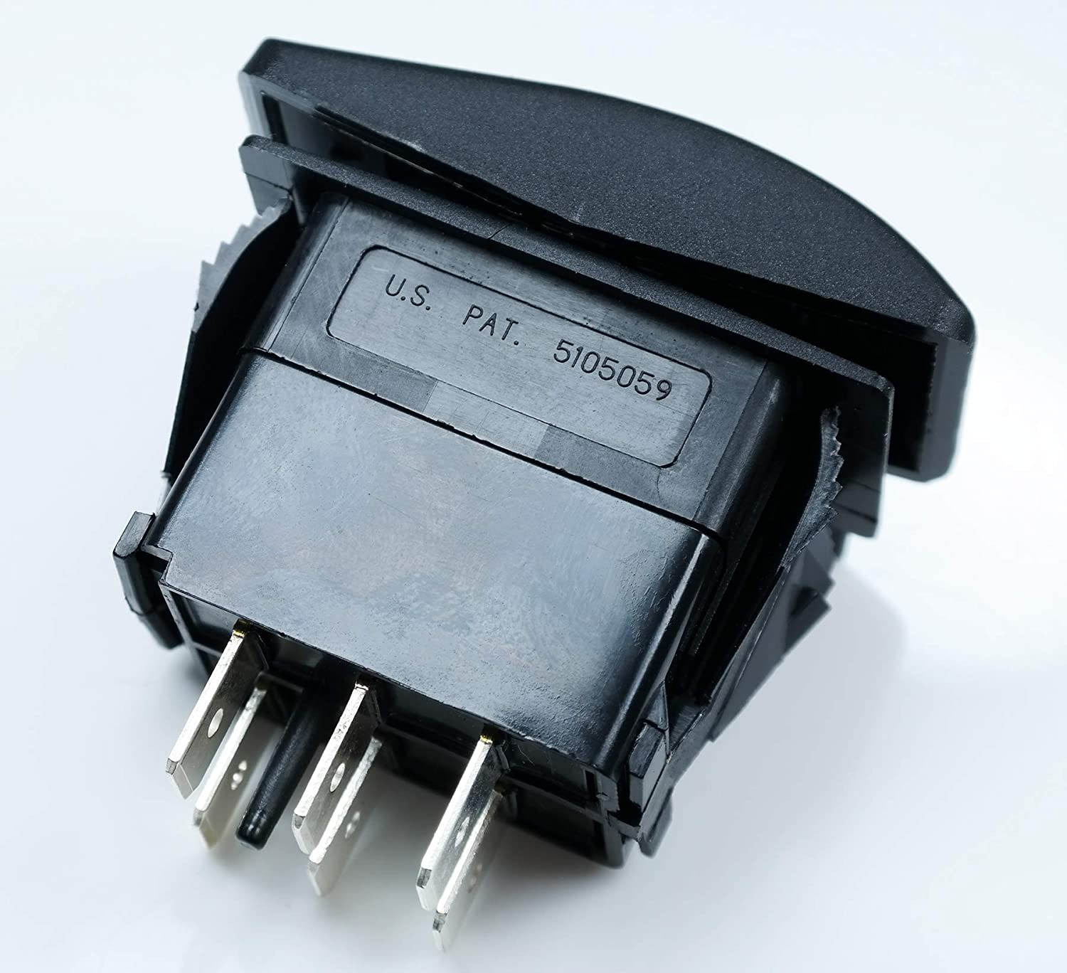 Rocker Switches DP VLD1S00B-AZC00-000 ON 20A 12V SEALED Non-il ON 2x Carling Technologies OFF