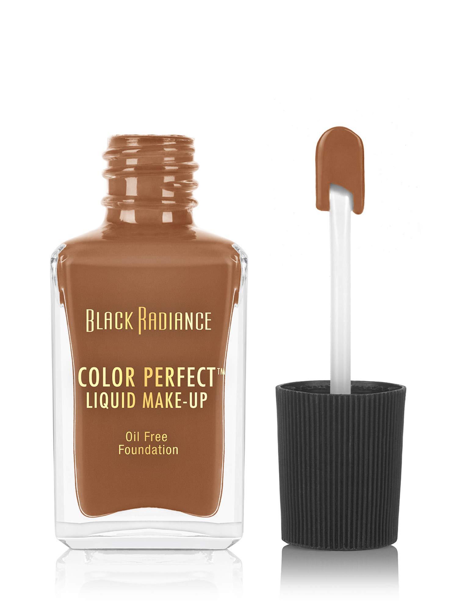 Black Radiance Color Perfect Liquid Make-Up, Caramel, 1 Fluid Ounce