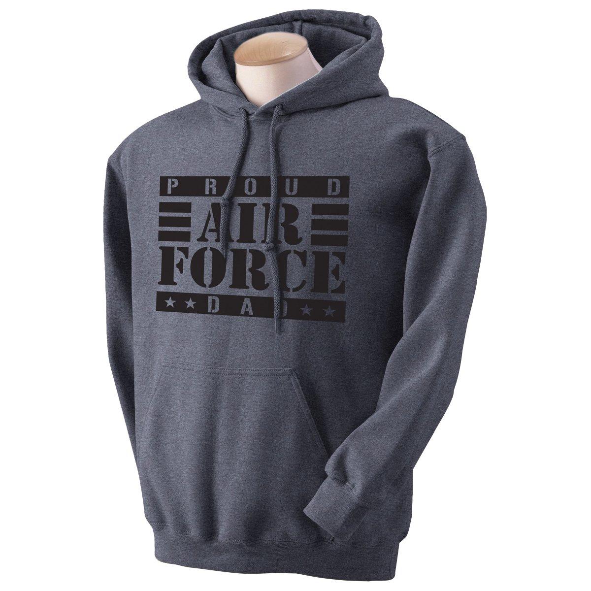 Proud Air Force Dad Hooded Sweatshirt PA-1282