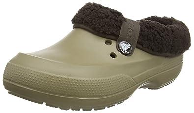 crocs Blitzen II Graphic Clog, Unisex-Erwachsene Clogs, Beige (Khaki/Espresso 23G), 37/38 EU (M4/W5 Unisex-Erwachsene UK)