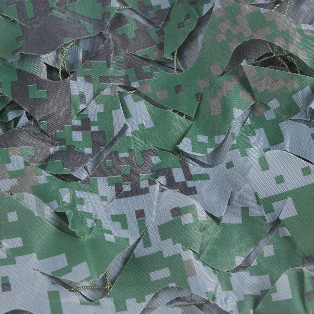 Filet Camo pour La D/écoration De Pare-Soleil Camping Chasse Militaire Chasse Camping D/écorations Tolyneil 2Mx3M Filet De Camouflage
