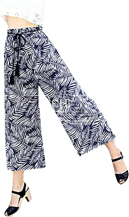 Falda Pantalon Mujer Elegante Primavera Verano Elastische Taille ...