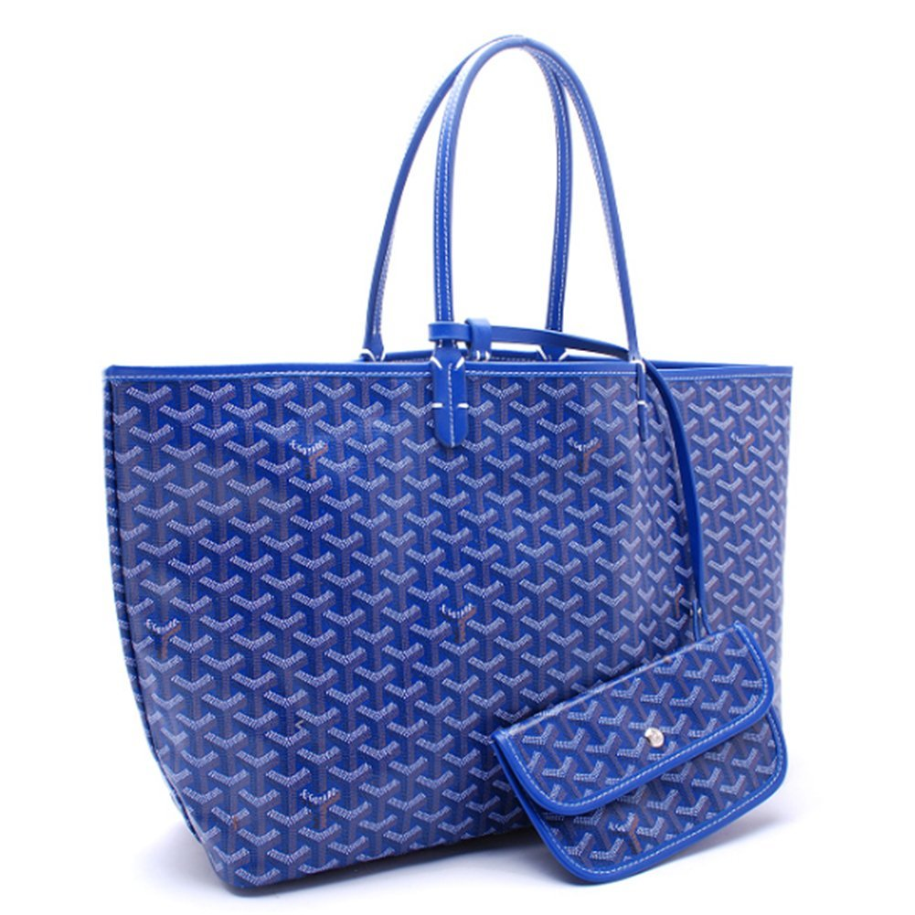 Agote Women Fashion Shipping Shoulder Tote Bag Set (BLUE.)