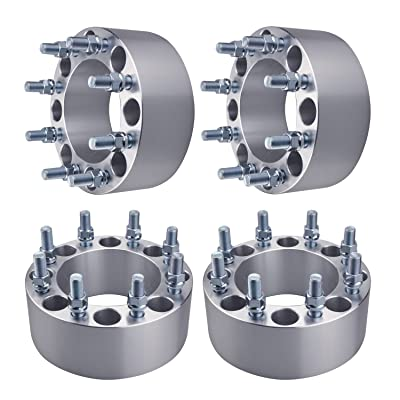 "GDSMOTU 4pc Wheel Spacers for Dodge Ford 8 Lug, 3"" Wheel Spacers 8x6.5 for 1994-2010 Dodge Ram 2500 3500,1975-1997 Ford F250 F350(Only 9/16"" Lugs),1992-2014 Ford E250 E350 Econoline(Only 9/16"" Lugs): Automotive"