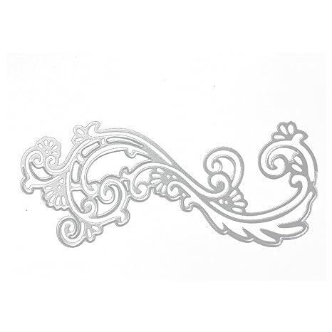 Gosear Metal Repujado Corte Matrices Plantillas moldes para Bricolaje álbum de Scrapbooking Album de Tarjetas de