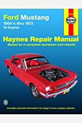 Ford Mustang, Mach 1, GT, Shelby, & Boss V-8 (64-73) Haynes Repair Manual Paperback