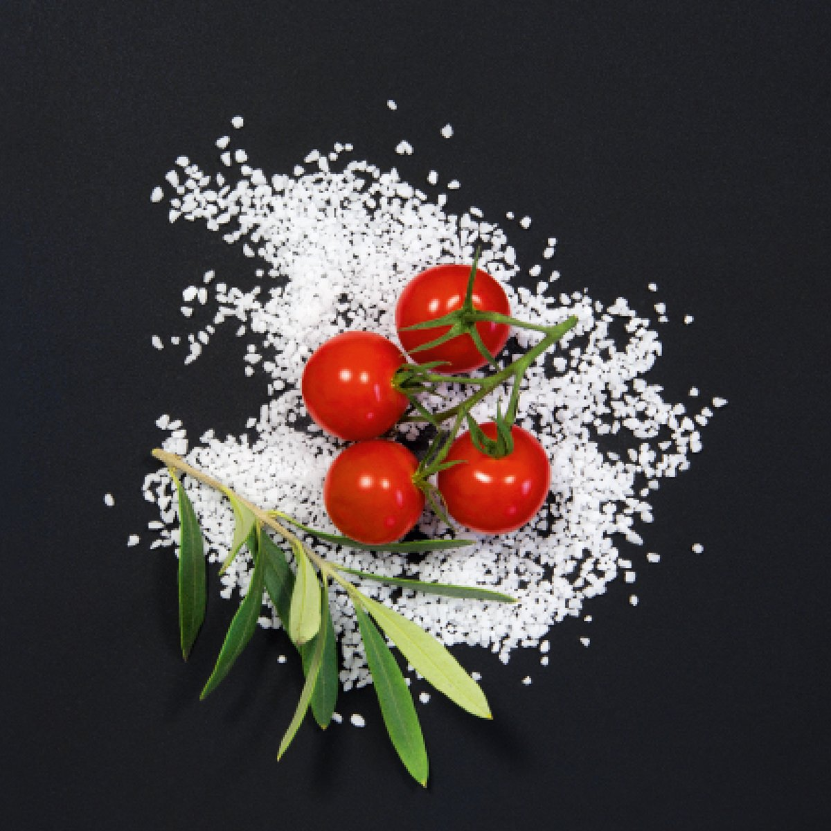 Eurographics 200x200, Cucina Italiana Pomodori Deco Glass, Black, 200 x 200 cm,  200 x 20 x 200 cm