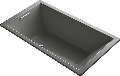 Kohler K-1136-58 Underscore 5.5Ft Acrylic Bath, 66 X 36 X 22 , Thunder Grey