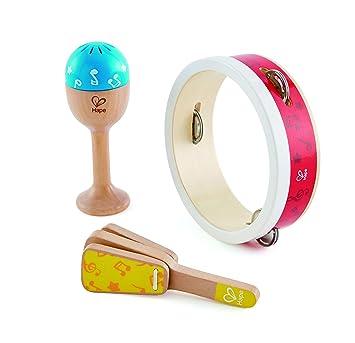 Hape Kinder Instrument Kleiner Tamburinspieler