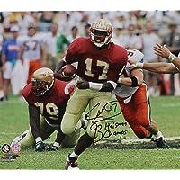 $116 » Charlie Ward Autographed Signed Florida State Seminoles 16x20 Photo vs Miami 93 Heisman Champs- PSA/DNA Authentic