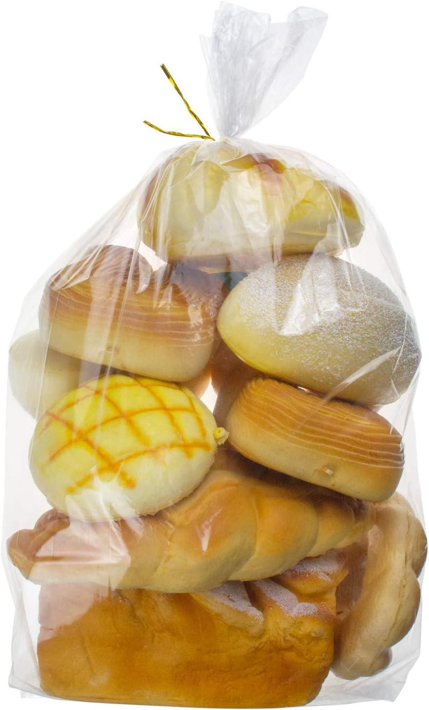 Lesibag 200 Piece Bread Loaf Bags - 8