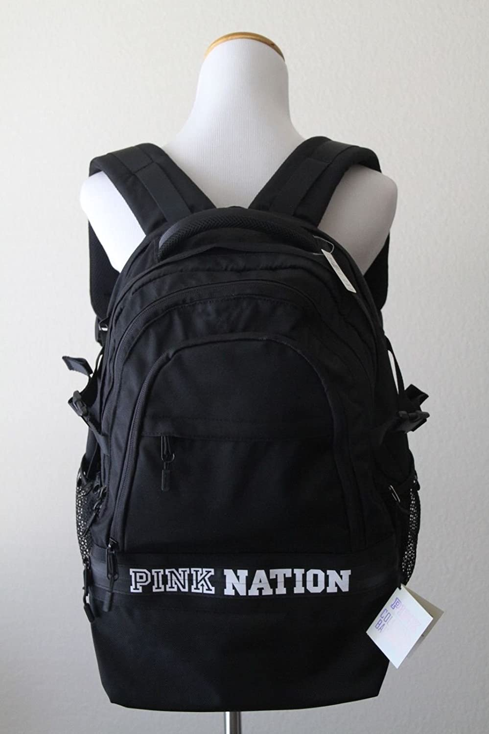b7f3d1479b Amazon.com  VICTORIA SECRET PINK NATION BACK PACK BACKPACK BLACK   Everything Else
