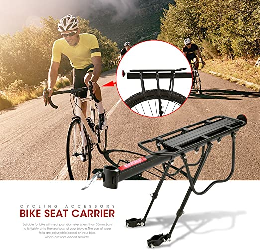 paniers steel hanger set for touring bike BAGS rear rack hook/'s set