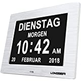 Longsea Reloj Calendario Digital 8