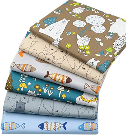 Quilting Fabric Pieces Fat Quarters Bundle s.