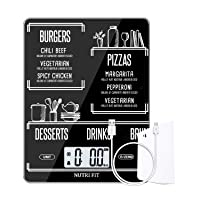 Deals on Nutri Fit Rechargeable Food Scale Digital Kitchen Scale