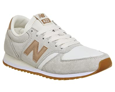 new balance beige metallic