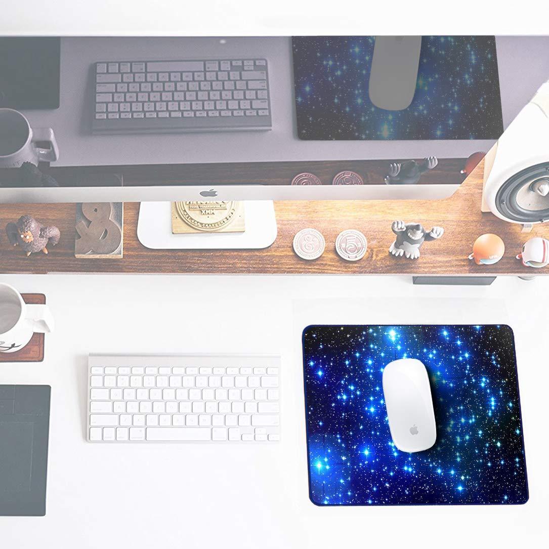 Nero Special Surface Improves Speed And Precision 240x200x2mm Gomma Antiscivolo Superficie Gaming PC Mouse Pad Sidorenko Tappetino per Mouse da Gioco