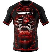 SMMASH Rashguard Blood 3.0 Manche Courte MMA BJJ UFC K1