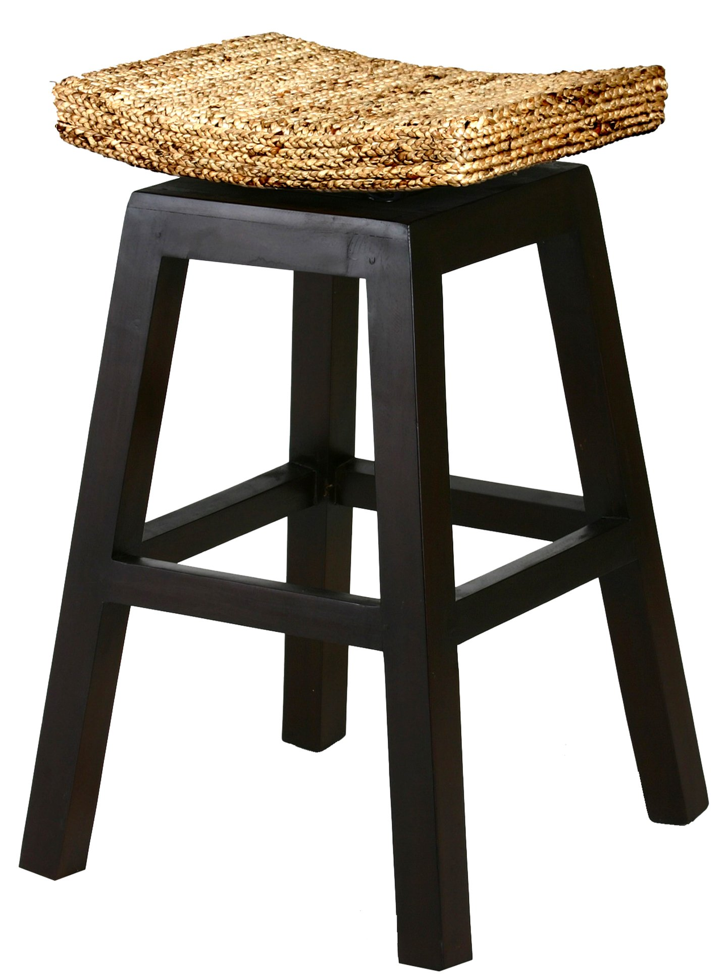 CHIC TEAK Water Hyacinth Vessel Counter Stool by CHIC TEAK