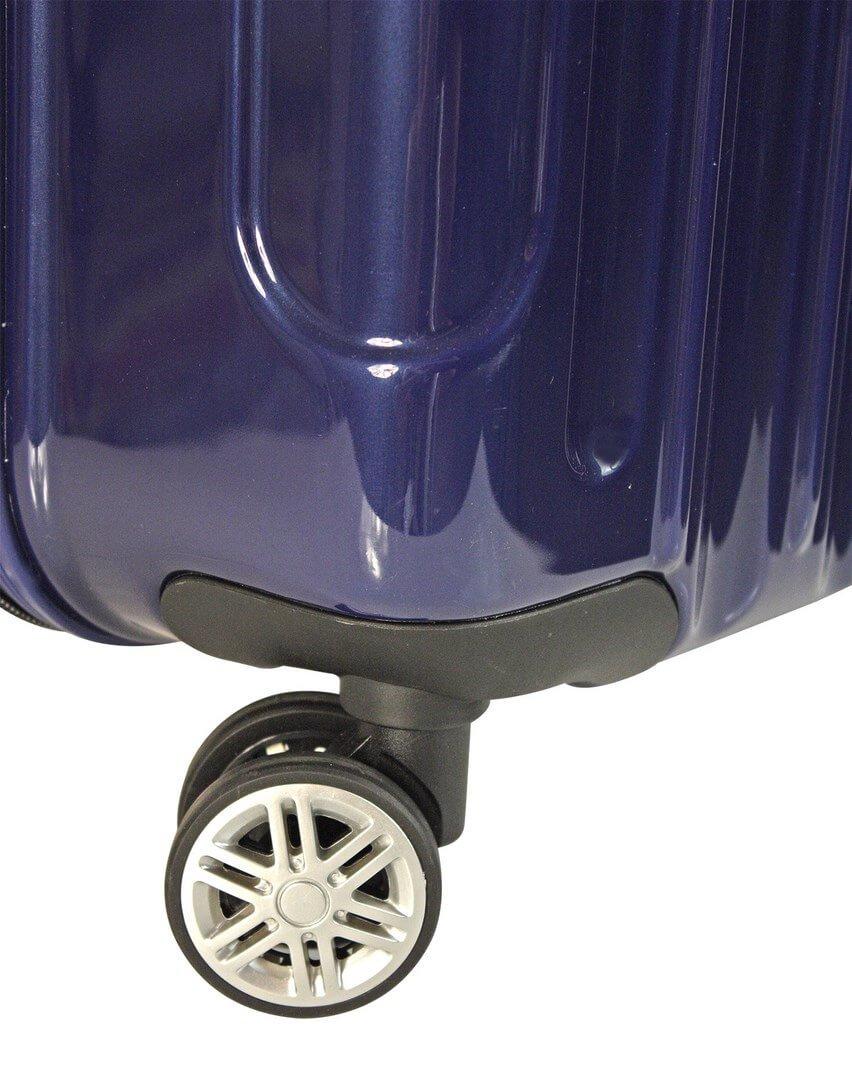 Juego de 2 Maletas Neon Lux Gladiator de 34-100 litros Azul Hielo