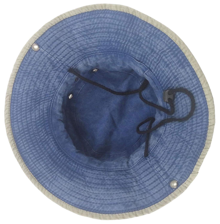 b1b7458dfce19 Ledamon Men s Sun Hat Fisherman Hat Outdoor UV Protection Fishing Bucket Hat  (Blue)  Amazon.ca  Clothing   Accessories