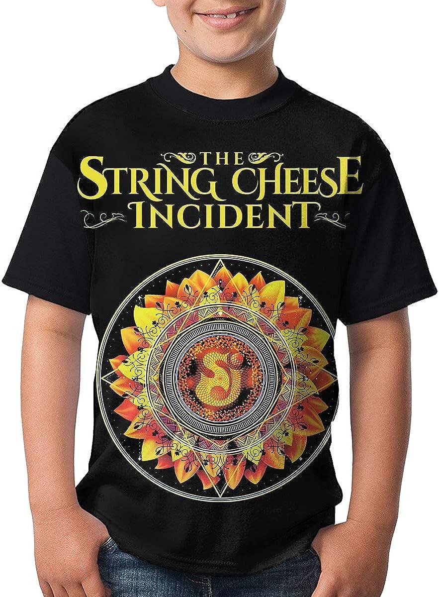 JustinLSullivan String Cheese Incident T Shirt Youth Shirt Boys Teenager Round Neck Short Sleeve Tee