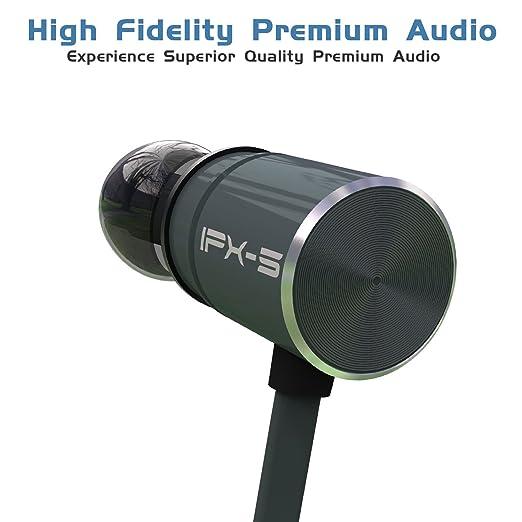 DBigness IPX5 Bluetooth Auriculares con doble recargable 8 horas duración de la batería in-ear Auriculares inalámbricos cancelación de ruido auriculares con ...
