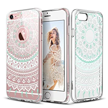 Carcasa iPhone 6 Plus / 6s Plus, ESR iPhone 6s Plus Funda / iPhone 6 Plus Funda Parachoques Diseño Exótico Patrón Funda Cover Carcasa Para iPhone 6 ...