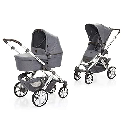 ABC Silla Duo Carro Silleta Bebe Con Capazo Salsa 4 (Mountain)