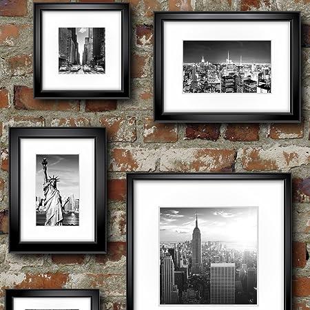 Muriva 102532 12 Novelties New York In Frames Wallpaper Rolls