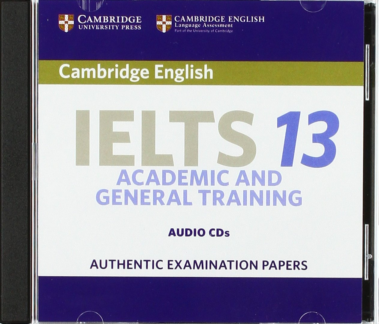 Cambridge IELTS 13 Audio CDs (2): Authentic Examination Papers (IELTS Practice Tests) ebook