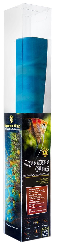 Galapagos 05411 Aquarium Aquatic Plants Background Clings, 10.125 x 30 10.125 x 30 7 59834 05411 5