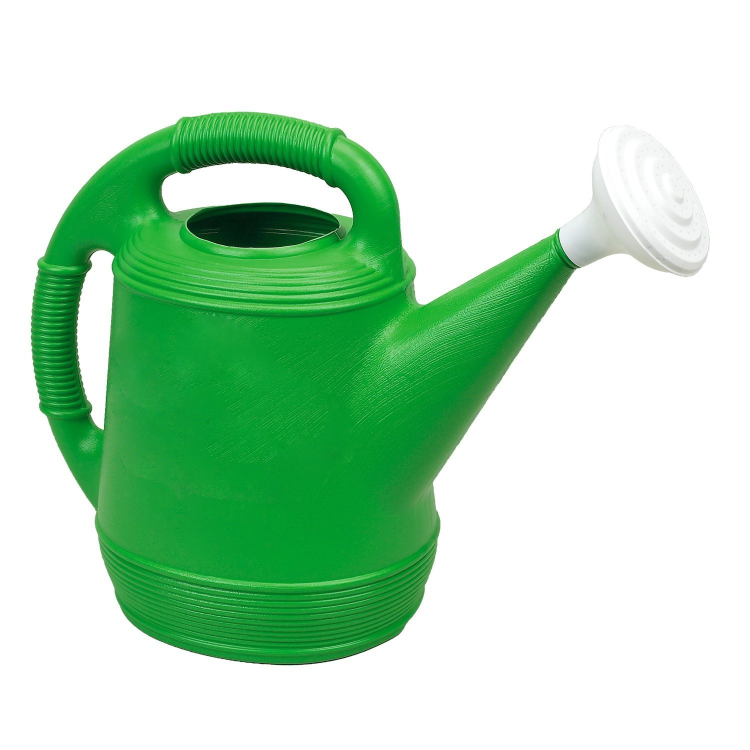 Missry Associates Misco Plastic Watering Can, 2-Gallon, Lime Green