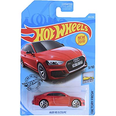 Hot Wheels Audi RS 5 Coupe 225/250, red: Toys & Games