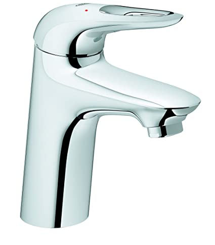 Buy Grohe Eurostyle Metal Basin Mixer (Silver, Chrome Finish) Online ...