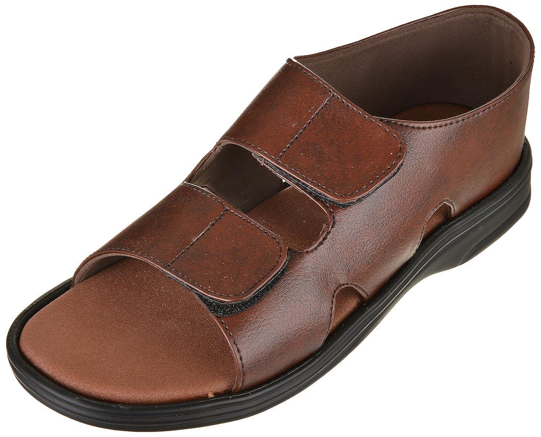 DiaCare Men's Brown Fashion Sandal