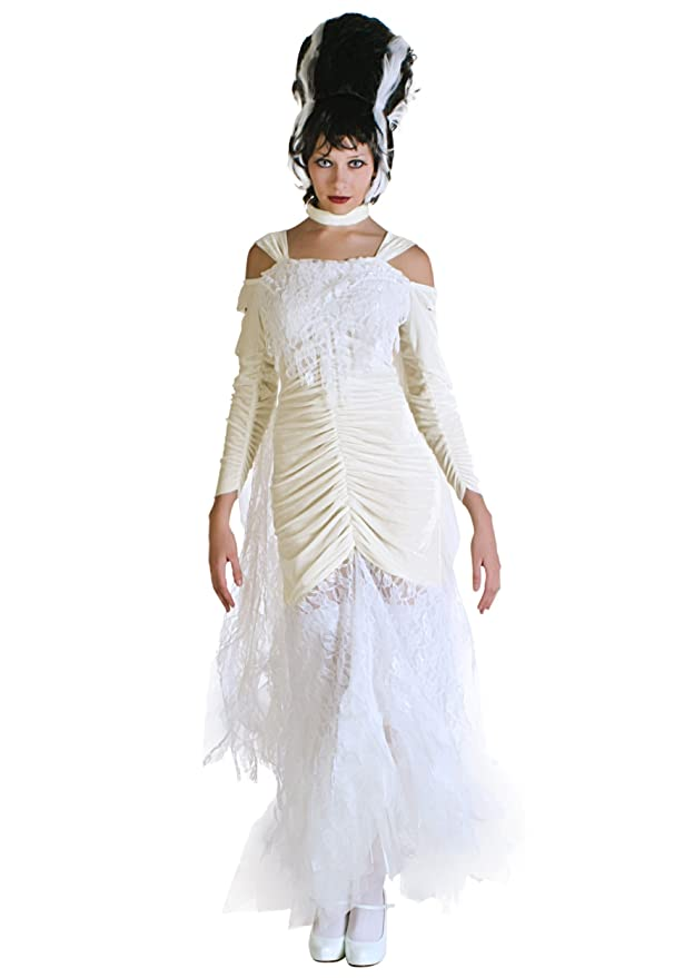 1930s Costumes- Bride of Frankenstein, Betty Boop, Olive Oyl, Bonnie & Clyde Bride of Frankenstein Costume $49.99 AT vintagedancer.com