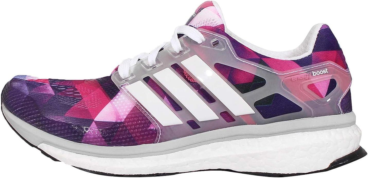 adidas Energy Boost ESM SS15 - Zapatillas de correr para mujer, color rosa, color Rosa, talla 43 1/3 EU: Amazon.es: Zapatos y complementos