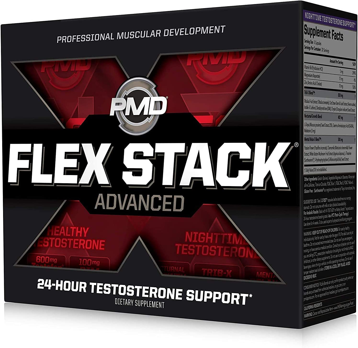 FA FITNESS AUTHORITY TEST STACK 120 caps Testosterone Libido Xtreme Booster