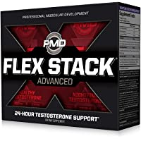 PMD Sports Flex Stack Advanced 24-Hour Testosterone Stack for Lean Muscle Growth...