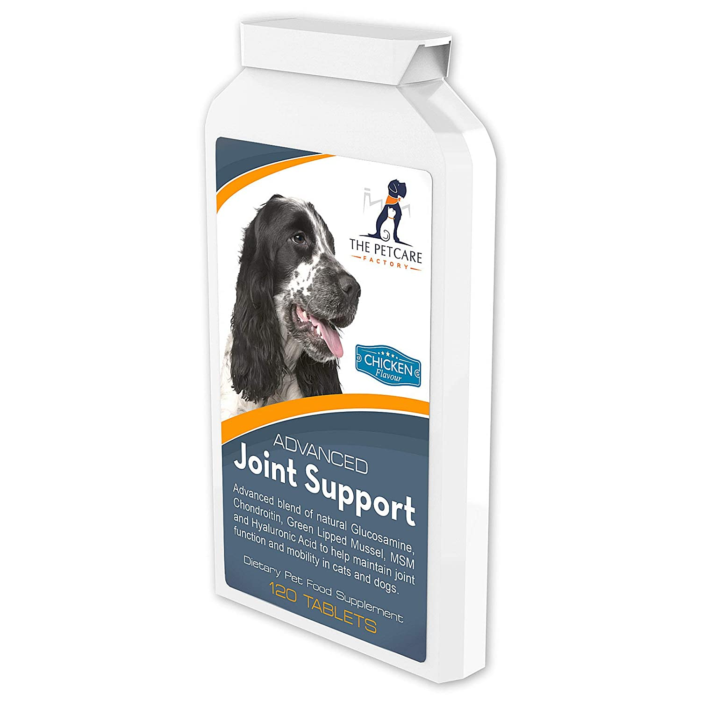 The Petcare Factory Conjunto de Apoyo Avanzado Suplemento para perros, con la glucosamina, la condroitina Potente, mejillón de labio verde, MSM, la ...