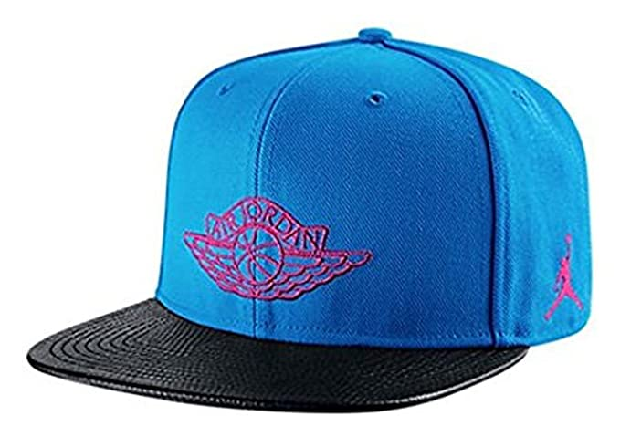 33e56bb018c64b ... sweden jordan mens 2 retro wings snapback hat cap black blue 15af3  92546 ...