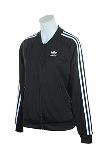98fa77774a7a24 adidas Originals Womens Superstar Track Top at Amazon Women s Clothing  store
