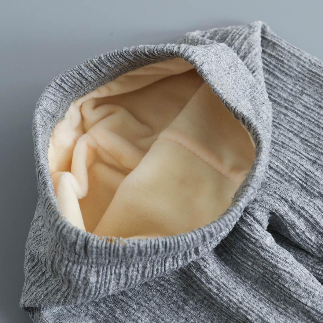 Sunbona Toddler Baby Girls Bottoms Pants Autumn Winter Velvet Warm Trousers Leggings