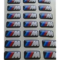 BMW Lot de 10 logos M autocollants
