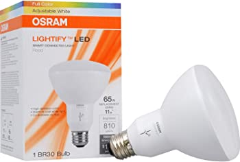 Sylvania 65W Equivalent BR30 SMART LED Light Bulb