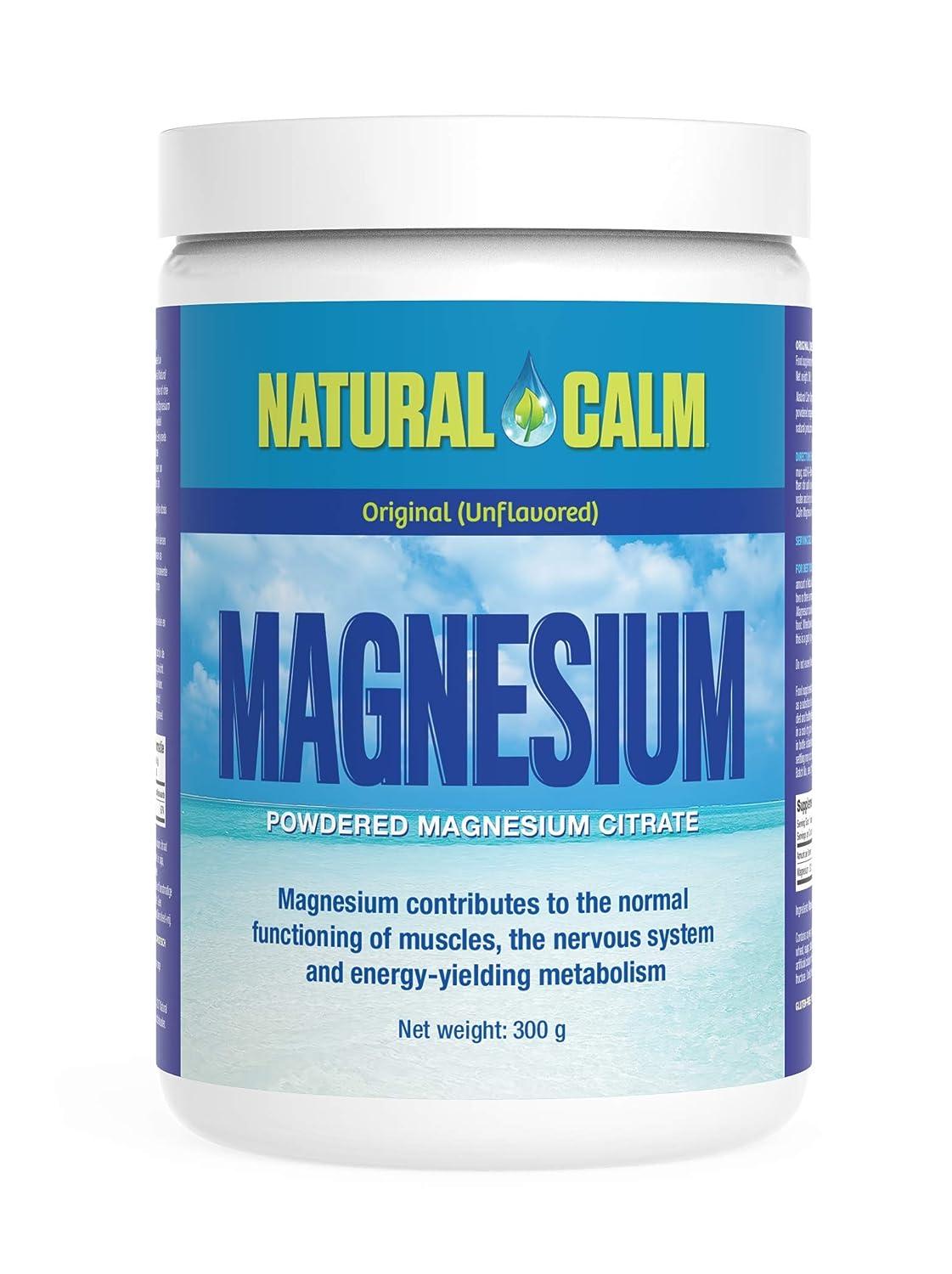 Natural Vitality Magnesio para estrés Original 300 g: Amazon.es: Salud y cuidado personal