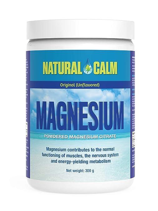 Natural Vitality Magnesio para estrés Original 300 g