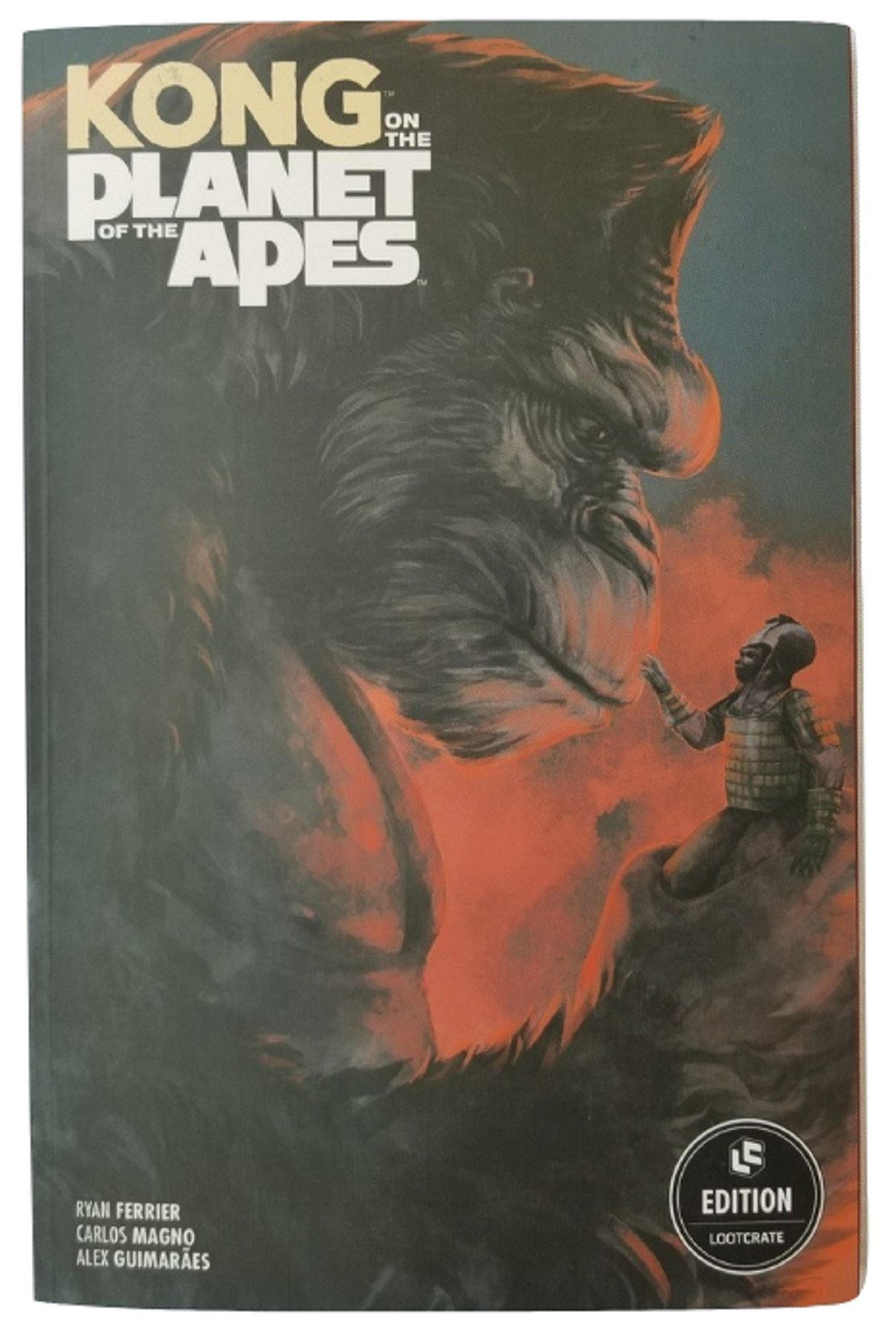 Kong on the Planet of the Apes - Graphic Novel pdf